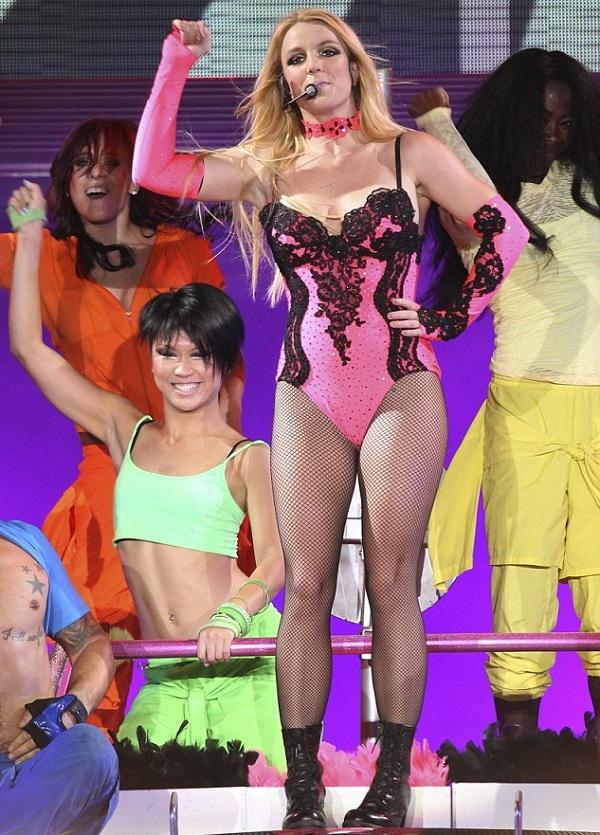В Москве состоялся концерт Бритни Спирс