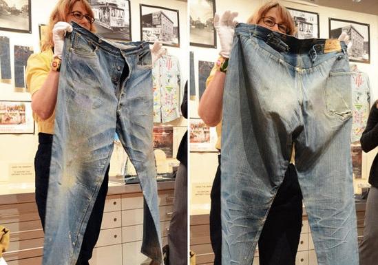 Самые старые в мире джинсы 1879 года уйдут с молотка за 0 000