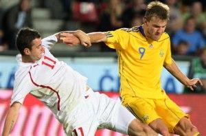 Украина проиграла Чехии 0:4