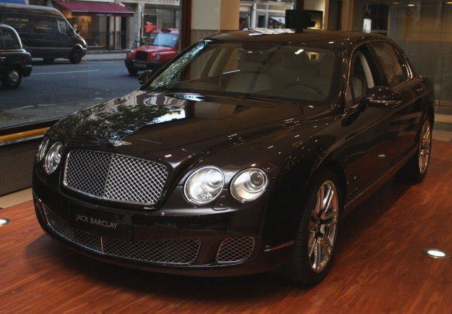 Bentley Continental Flying Spurs от Linley