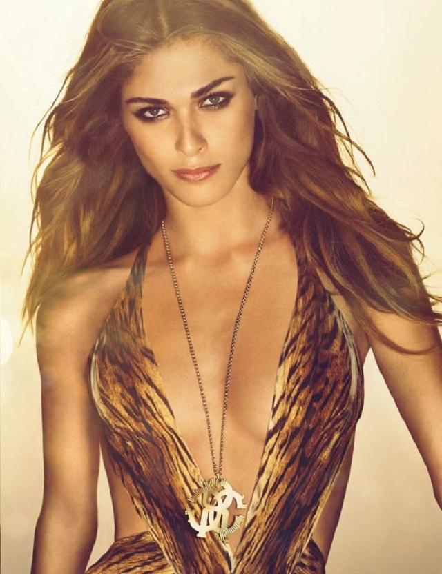 Элиза Седнауи стала лицом аромата Roberto Cavalli Gold