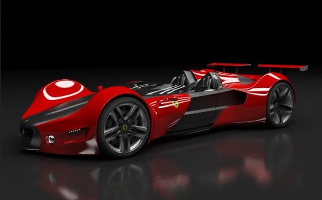 Ferrari Celeritas - ультрасуперкар для миллионеров