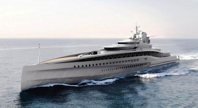 Fincantieri Yachts показала 145-метровую мегаяхту Fortissimo