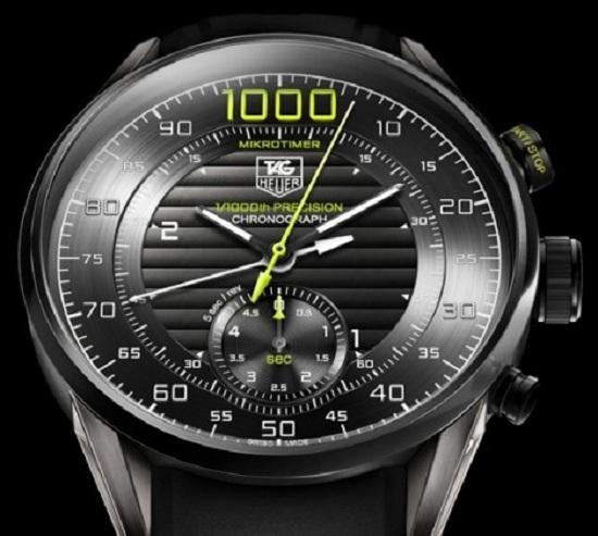 Первый в мире механический хронограф от TAG Heuer