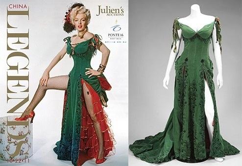 Платье Мэрилин Монро продали за полмиллиона