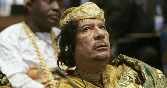 Муаммар Каддафи с 0 млрд стал самым богатым на Земле