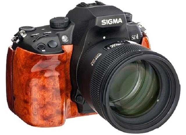Камера Sigma SD1 Wood Edition