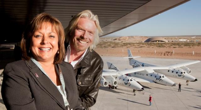 Первый в мире частный космопорт Virgin Galactic