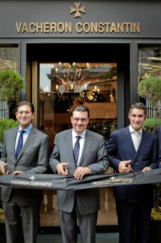 В Нью-Йорке открылся первый бутик Vacheron Constantin