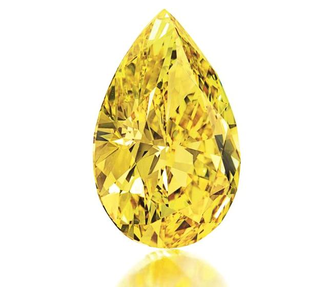 Желтый бриллиант поставил новый рекорд