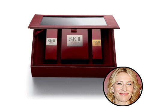 Кейт Бланшет рекламирует японскую косметику SK-II