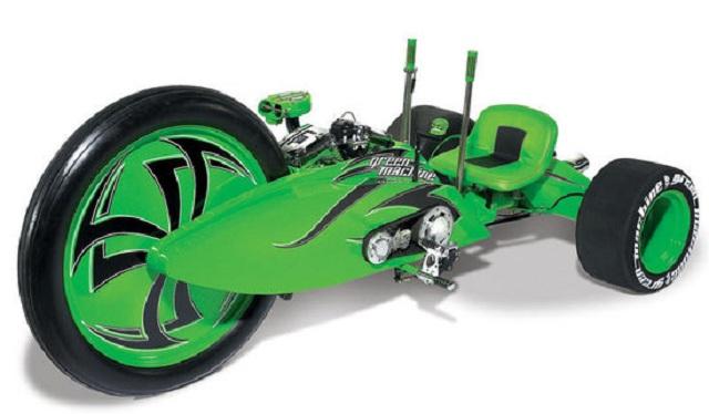 Parker Brothers Choppers презентовала трехколесный байк Green Machine