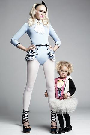 Гвен Стэфани выпустила детскую коллекцию одежды