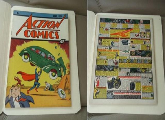 Первый номер комикса Action Comics уйдет с молотка за  млн.
