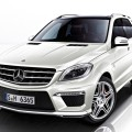 Люксовый 2012 Mercedes-Benz ML63 AMG