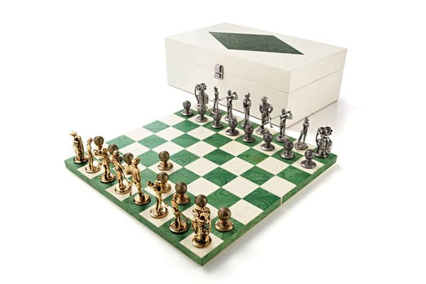Шахматный гольф от AGRESTI