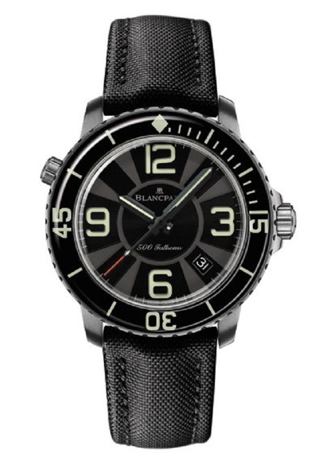 Дайверские часы 500 Fathoms от Blancpain
