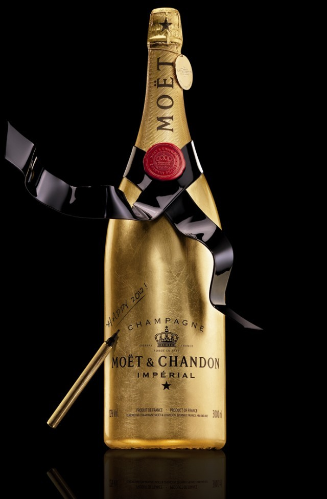 Золотое шампанское Moët & Chandon