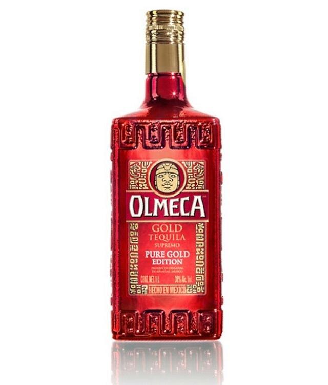 Праздничная текила Olmeca Gold Tequila Supremo