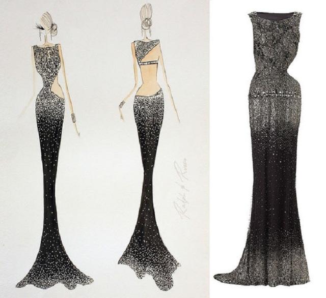 Swarovski презентовала роскошное платье за  тыс.