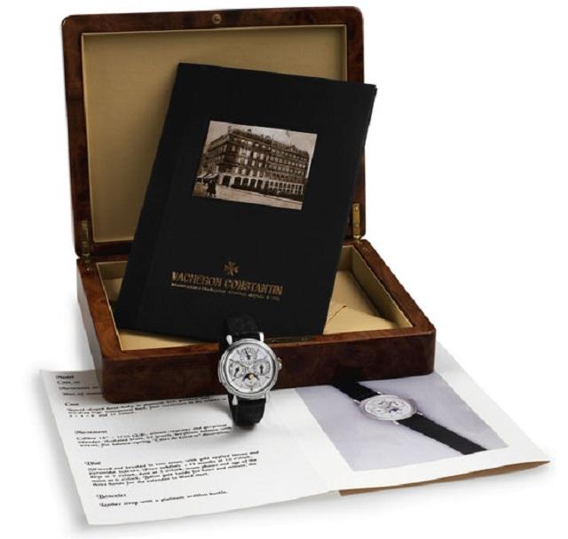 """В Нью-Йорке состоится аукцион """"Important Modern & Vintage Timepieces"""""""