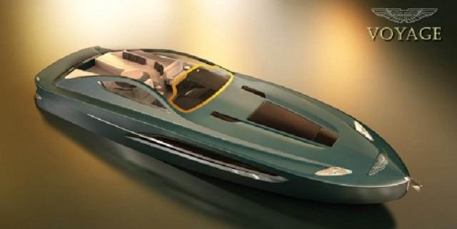 Aston Martin представил концепт яхты Voyage 55