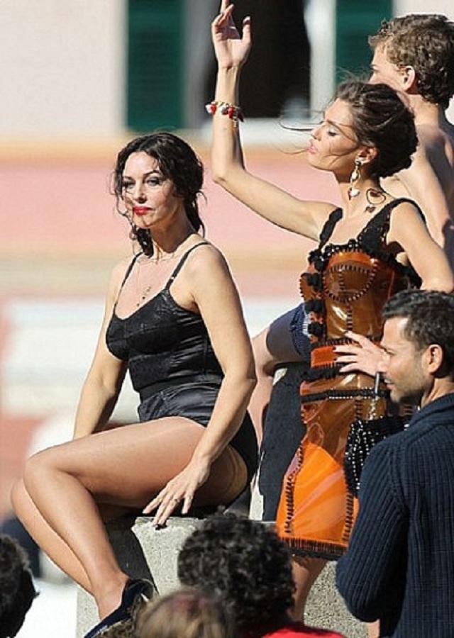 Моника Белуччи в рекламной кампании Dolce & Gabbana