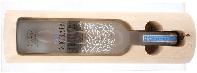 Рождественская водка Belvedere Buche