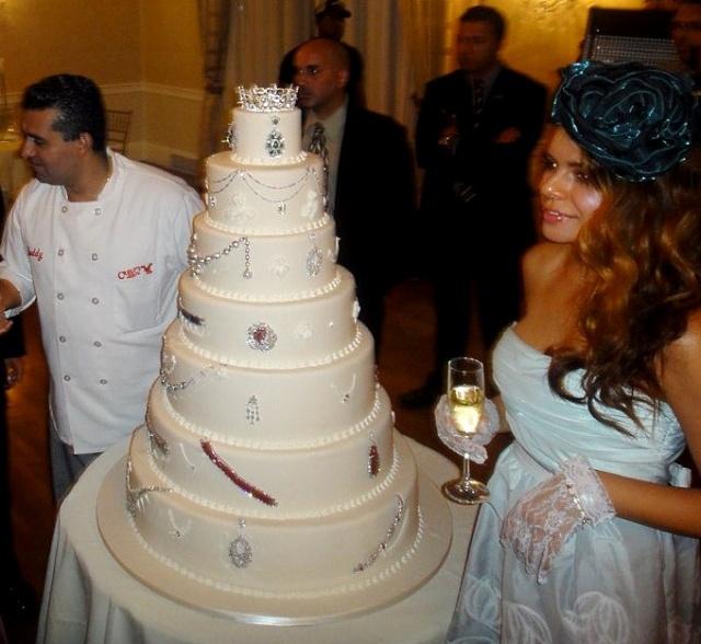 Самый дорогой свадебный торт в мире за $ 30 млн