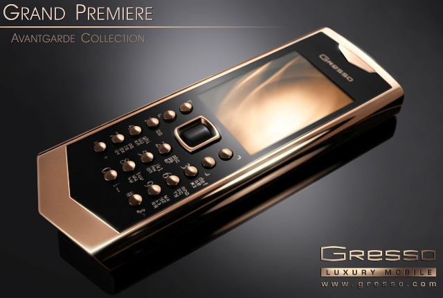 Gresso Grand Premiere - золотое продолжение Avantgarde