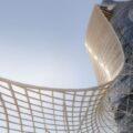 Падающий отель Hyatt Capital Gate в Абу-Даби