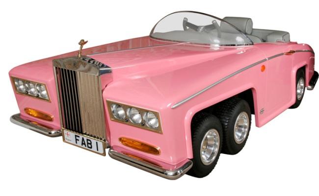 Гламурный Lady Penelope FAB1 Rolls Royce для девочек