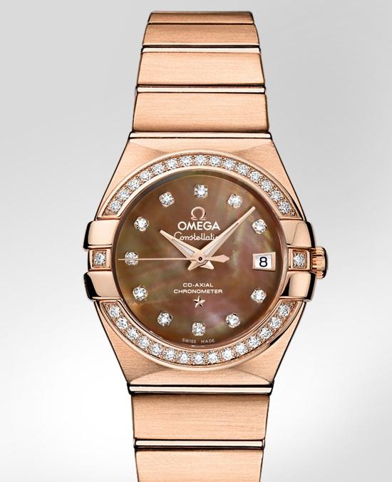 OMEGA обновила коллекцию часов Constellation