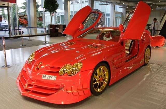 Нашумевший Ueli Anliker McLaren SLR 999 Red Gold Dream продают за $ 11 млн