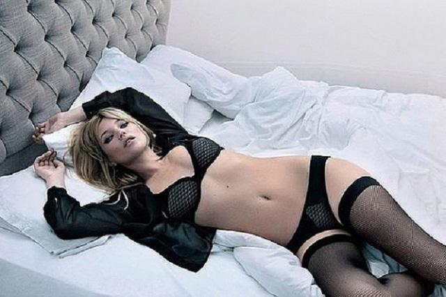 Кейт Мосс в рекламной кампании Valisere