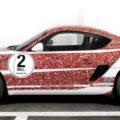 Porsche Cayman S для фанов Facebook