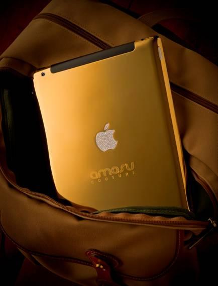 Amosu Couture выпустил золотой iPad 2