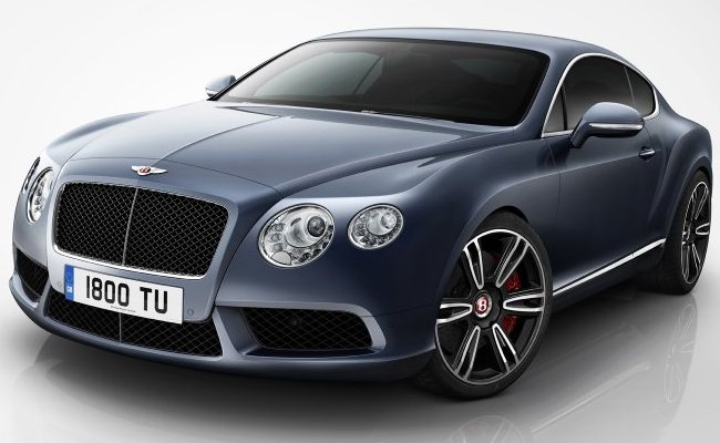 Bentley представляет Continental GT и GTC V8