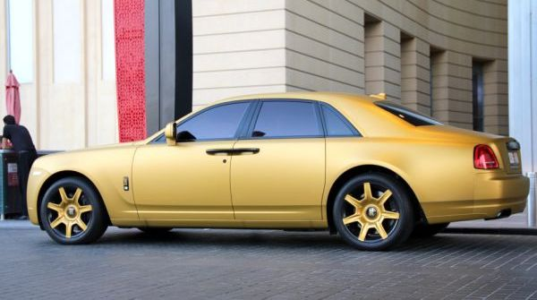 Rolls-Royce Ghost озолотился