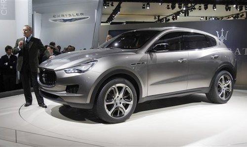 Maserati Kubang - первый внедорожник Люкс