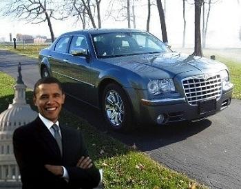 Крайслер Барака Обамы продают за $ 1 миллион