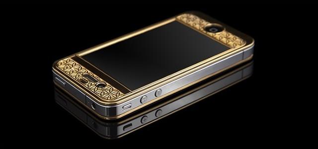 Goldgenie презентовал роскошный Suvarna Bullion iPhone 4S