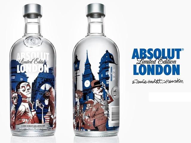 ABSOLUT London от создателя Gorillaz