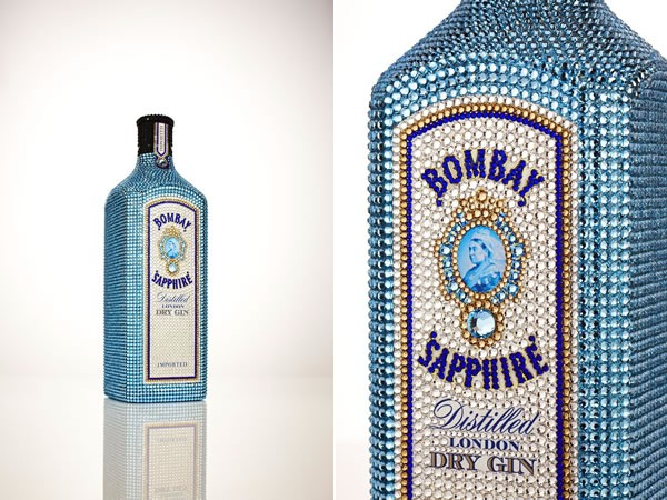 Первый джин Bombay Sapphire в кристаллах Swarovski продан