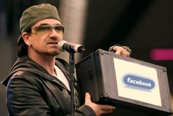 Боно стал миллиардером благодаря Facebook