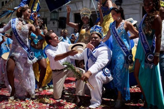 Карнавал в Бразилии 2012
