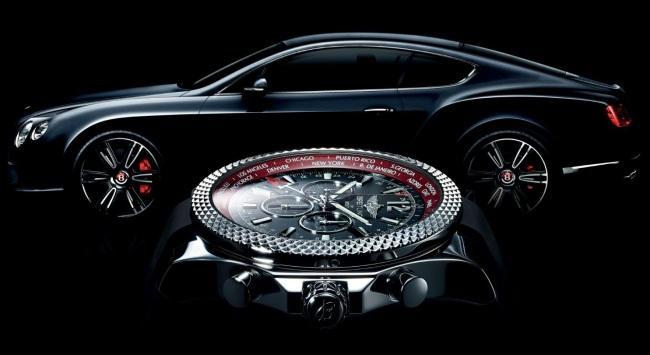 Хронограф Breitling GMT в честь нового Bentley V8 Continental GT