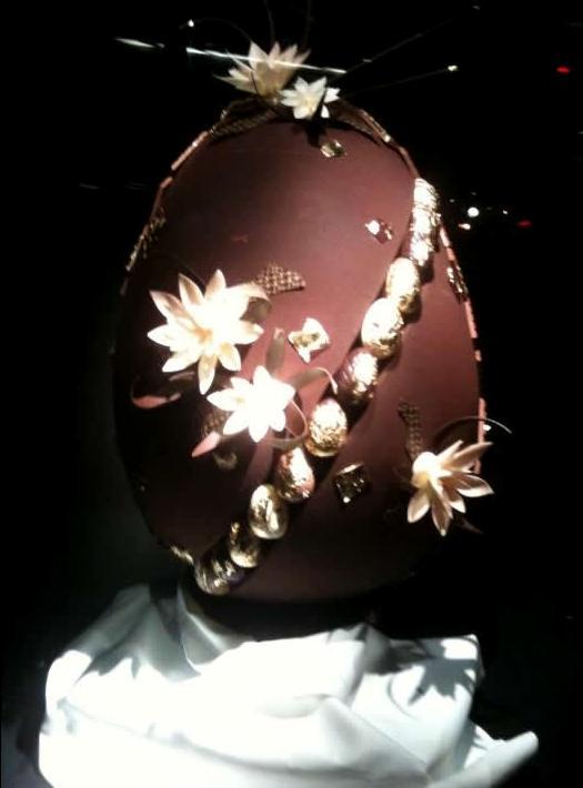 Самое дорогое шоколадное яйцо Фаберже