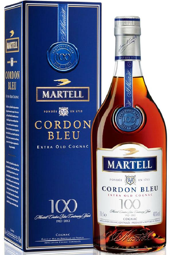 Знаменитый коньяк Martell Cordon Bleu празднует 100-летие