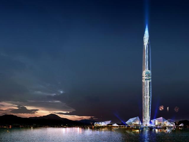 Башня-невидимка «Эко Призма»